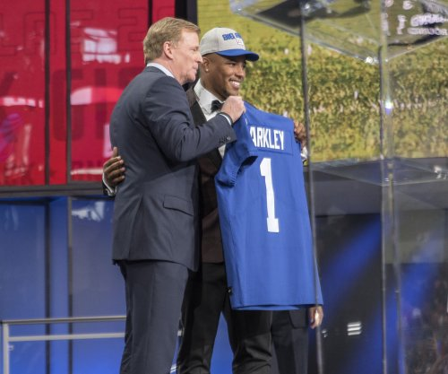 Giants GM: Barkley 'touched by hand of God'