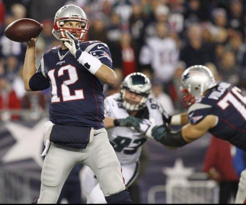 New England Patriots' Tom Brady can be a receiver, too