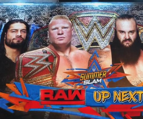 WWE Raw: Brock Lesnar confronts his SummerSlam opponents