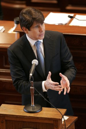 Quinn sworn in; Blagojevich moves on