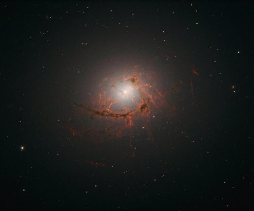 Survey details thread-like structure of Brightest Cluster Galaxy