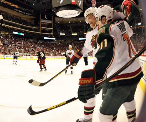 Minnesota Wild forward Zach Parise could miss 3 games with eye injury