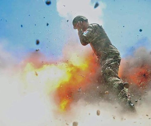Army photographer's last image shows risks of documenting mission