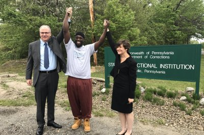 Pennsylvania inmate who served 24 years freed after conviction lifted