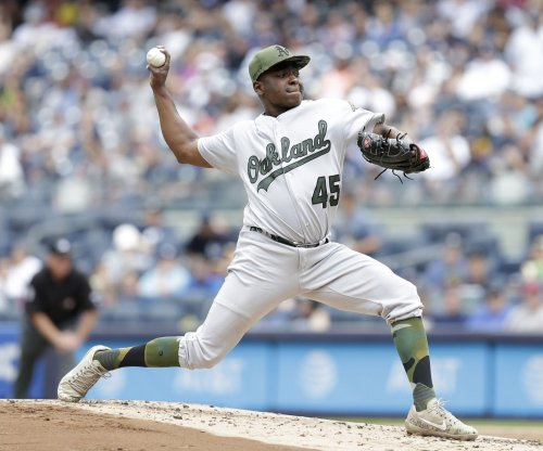 Jharel Cotton, Oakland Athletics complete sweep of New York Yankees