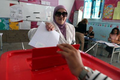 Turnout down in Tunisia's second free presidential elections