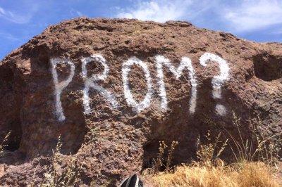 Park rangers: Stop defacing parks for 'promposals'