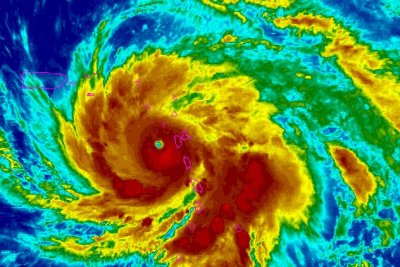NHC says Maria 'potentially catastrophic' as it tears through Caribbean