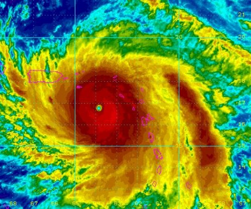 NHC: Maria 'potentially catastrophic' as it tears through Caribbean