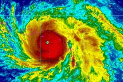 Hurricane Maria nears St. Croix