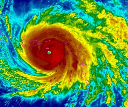 Hurricane Maria nears St. Croix, on track for Puerto Rico Wednesday