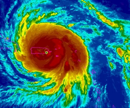 Eye of Hurricane Maria nears Puerto Rico