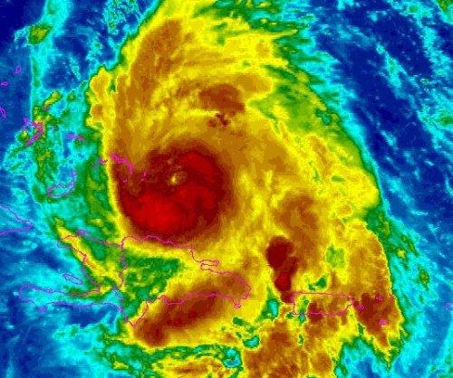 Hurricane Maria approaches Turks and Caicos, Bahamas