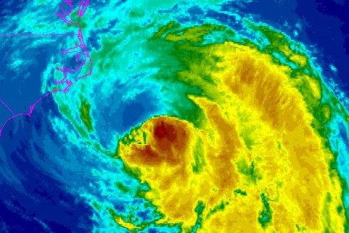 Hurricane Maria winds nearing North Carolina's outer banks