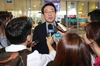 South Korea envoy leaves for Washington and 'cooperative talks'