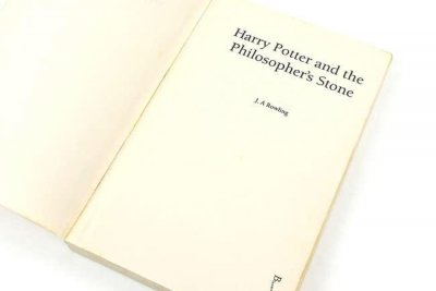 'Harry Potter' proof copy with typo expected to sell for up to $5,600