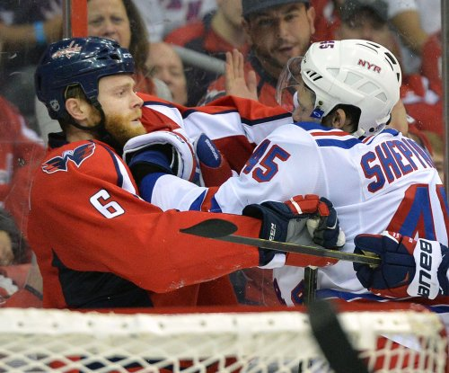 Washington Capitals grab 3-1 series lead on New York Rangers