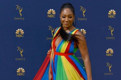 Tiffany Haddish wears dress in honor of Eritrean flag to Emmys
