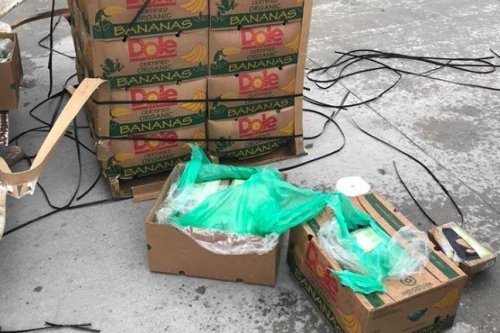 $18M worth of cocaine found in banana boxes donated to Texas prison