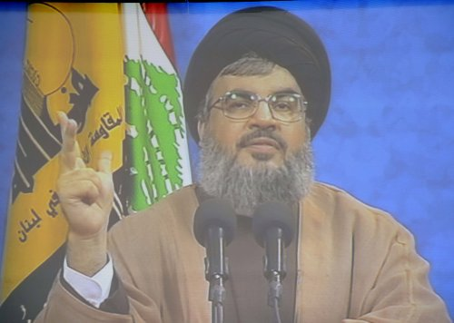 Nasrallah makes rare public appearance