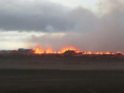 Iceland grows as Bardarbunga volcano continues to spew lava