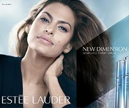 Eva Mendes will be the face of Estee Lauder's New Dimension skincare collection