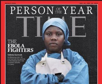 Ebola nurse named Time Person of the Year dies after giving birth