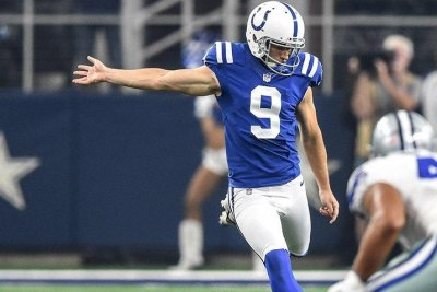 Indianapolis Colts release veteran punter Jeff Locke