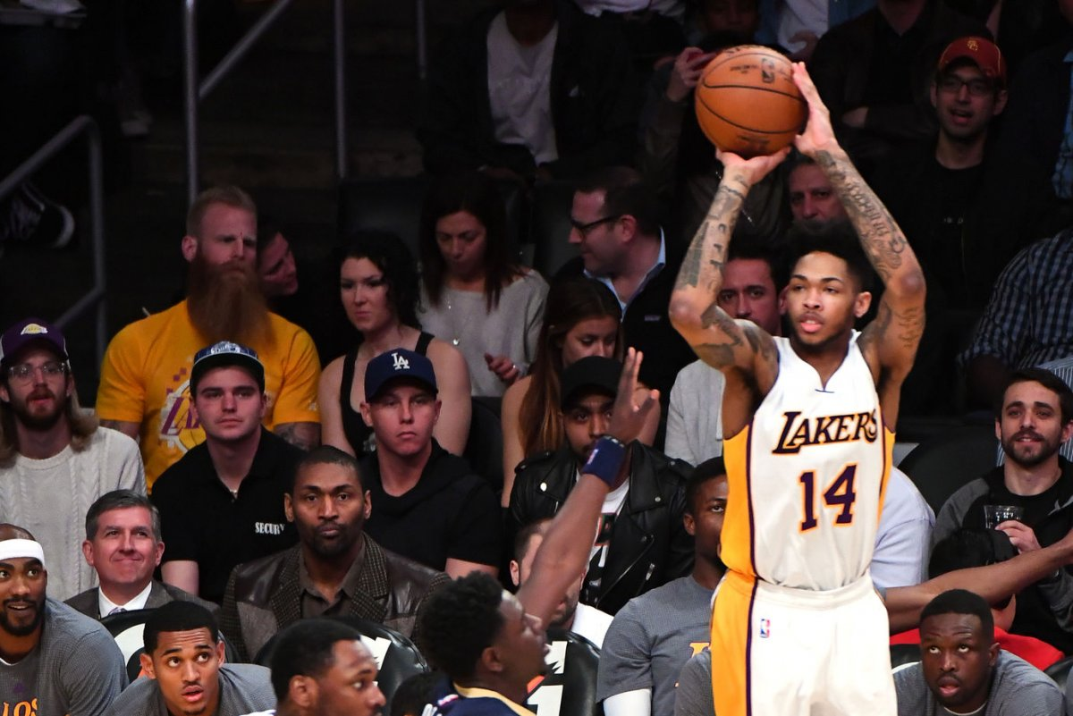 Los Angeles Lakers pick up options on Brandon Ingram Larry Nance