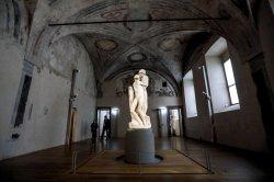 Possible Michelangelo fingerprint found on statue