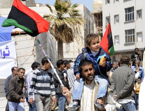 'Humanitarian' cease-fire urged in Libya