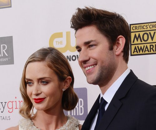 Emily Blunt's husband cried at 'Into the Woods'