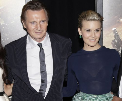 Maggie Grace from 'Taken' says Liam Neeson prank called her ex