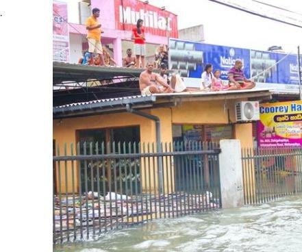 Sri Lanka flood leaves dozens dead