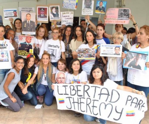 Wives of jailed Venezuelan opposition leaders form political prisoner group