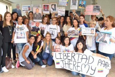 Wives of jailed Venezuelan opposition leaders form political prisoner group
