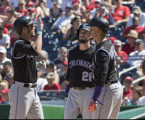 Colorado Rockies OF David Dahl sidelined after rib cage stress reaction