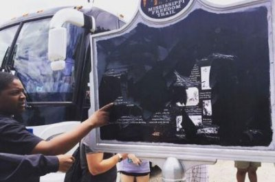 Memorial marker of civil-rights icon defaced in Mississippi