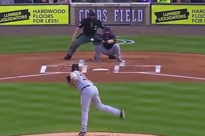Detroit Tigers pitcher Michael Fulmer drills umpire in groin with fastball