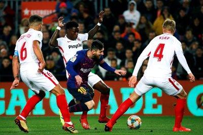 Barcelona stomps Sevilla, Lionel Messi nets 50th at Copa del Rey