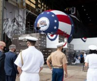 HII launches Virginia-class submarine USS Montana