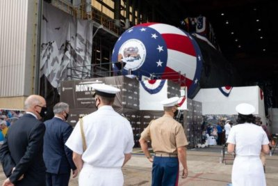 HII launches Virginia-class submarine USS Montana