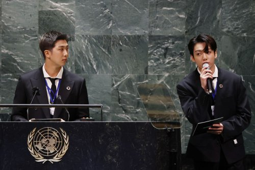 BTS praise youth response to COVID at opening of U.N. General Assembly