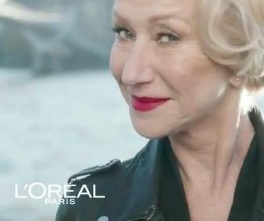 Helen Mirren plays leather wearing boss in new L'Oreal ad