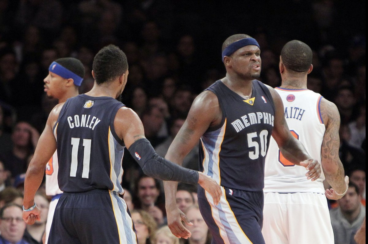Zach randolph memphis grizzlies - Zach Randolph Helps Memphis Grizzlies End Skid With Win Over Los Angeles Clippers Upi Com
