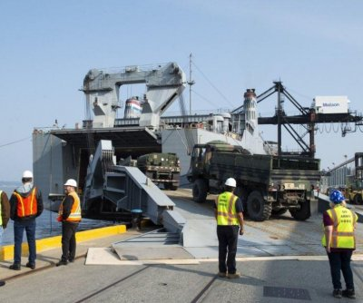 U.S. Transportation Command holds 28-ship sealift readiness exercise