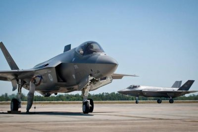 F-35A crashes at Eglin AFB, Fla., with pilot safely ejecting