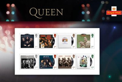 Queen to appear on British postage stamps