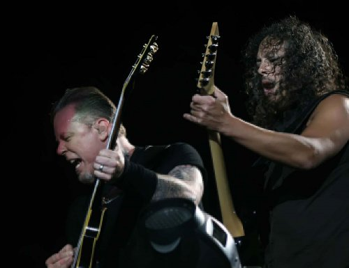 Metallica to play the Apollo Theater in New York