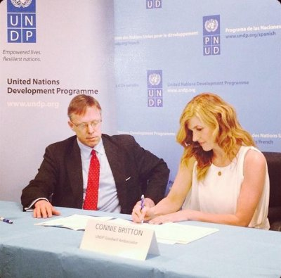 Connie Britton named U.N. goodwill ambassador